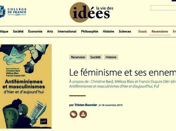 """""""Le féminisme et ses ennemis"""", remarques à la marge sur une paranoïaordinaire"""